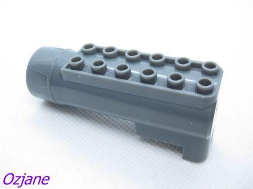LEGO PART 87944 AIR BLAST RECEIVER DARK BLUISH GREY POWER RACERS