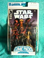DARTH TALON  - CADE SKYWALKER | Star Wars 2008 comic packs number 2 figures