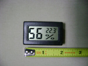 LCD Digital Thermometer/Hygrometer Temperature and Humidity Meter (NEW)