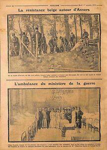 Resistances-Tranchees-Soldats-de-Belgique-a-Anvers-Ambulance-de-France-WWI-1914