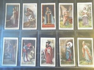 1929 Wills ENGLISH PERIOD COSTUMES dress up set 50 cards Tobacco Cigarette
