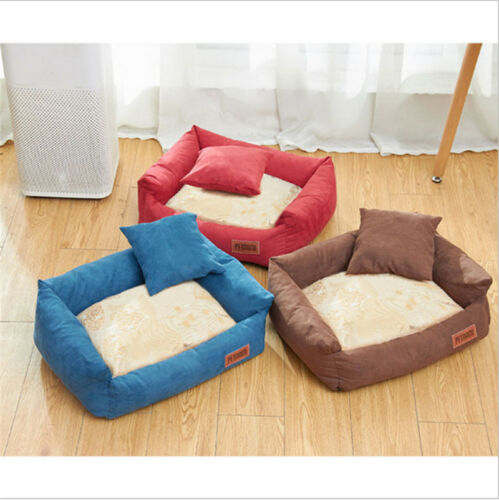 Self-Warming Cat and Dog Bed Cushion Sofa bed for Medium large Dogs