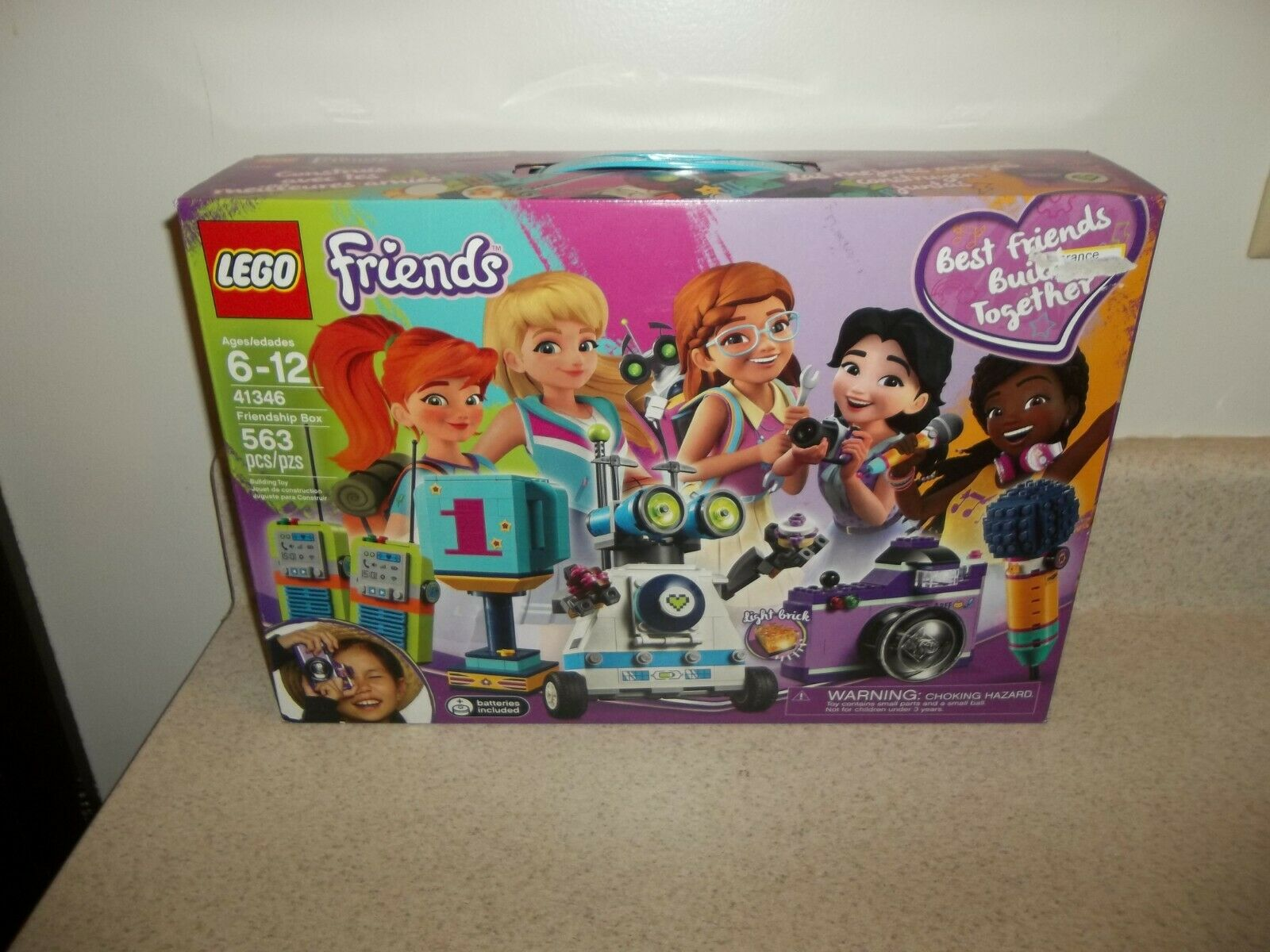 LEGO Friends  Friendship Box Building Building Building Play Set 41346 NEW NIB 1020 868419