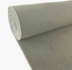 5 yard gray upholstery durable un backed automotive trim carpet 40 x 15 ft roll ebay. Black Bedroom Furniture Sets. Home Design Ideas