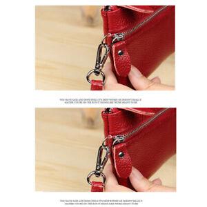 Trendy-Women-039-s-Clutch-Litchi-Pattern-Wristlet-Bag-Long-Leather-Function-Wallet-L