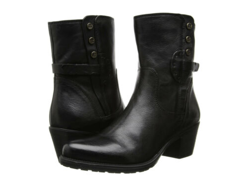 5 Bnib Black Maymie Uk 6 Ankle Boots Ladies Leather Artisan Skye Clarks Fdwq0PP