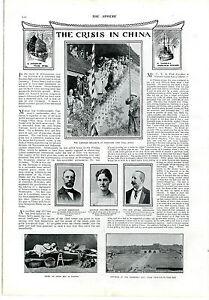 1900 THE SPHERE Newspaper BOER WAR China Crisis PRETORIA Irish Yeomanry (7200)