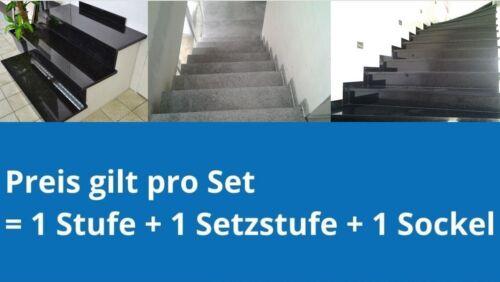 Padang Naturstein Treppen Stufen Treppenstufe Trittstuffen Granit Granittreppen