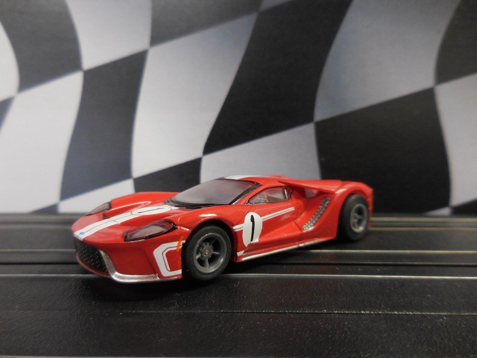 AFX Mega G+ New Super Ford GT  Set Car Only  Fits Afx, AW, JL