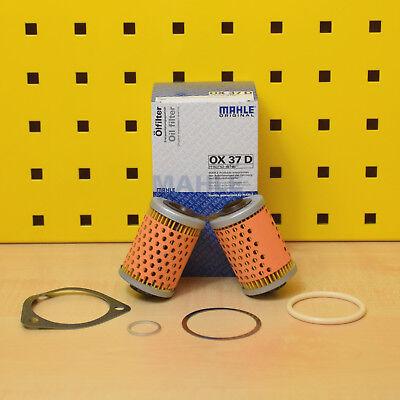 3x Mahle Ölfilter OX 37D BMW R 80 ST