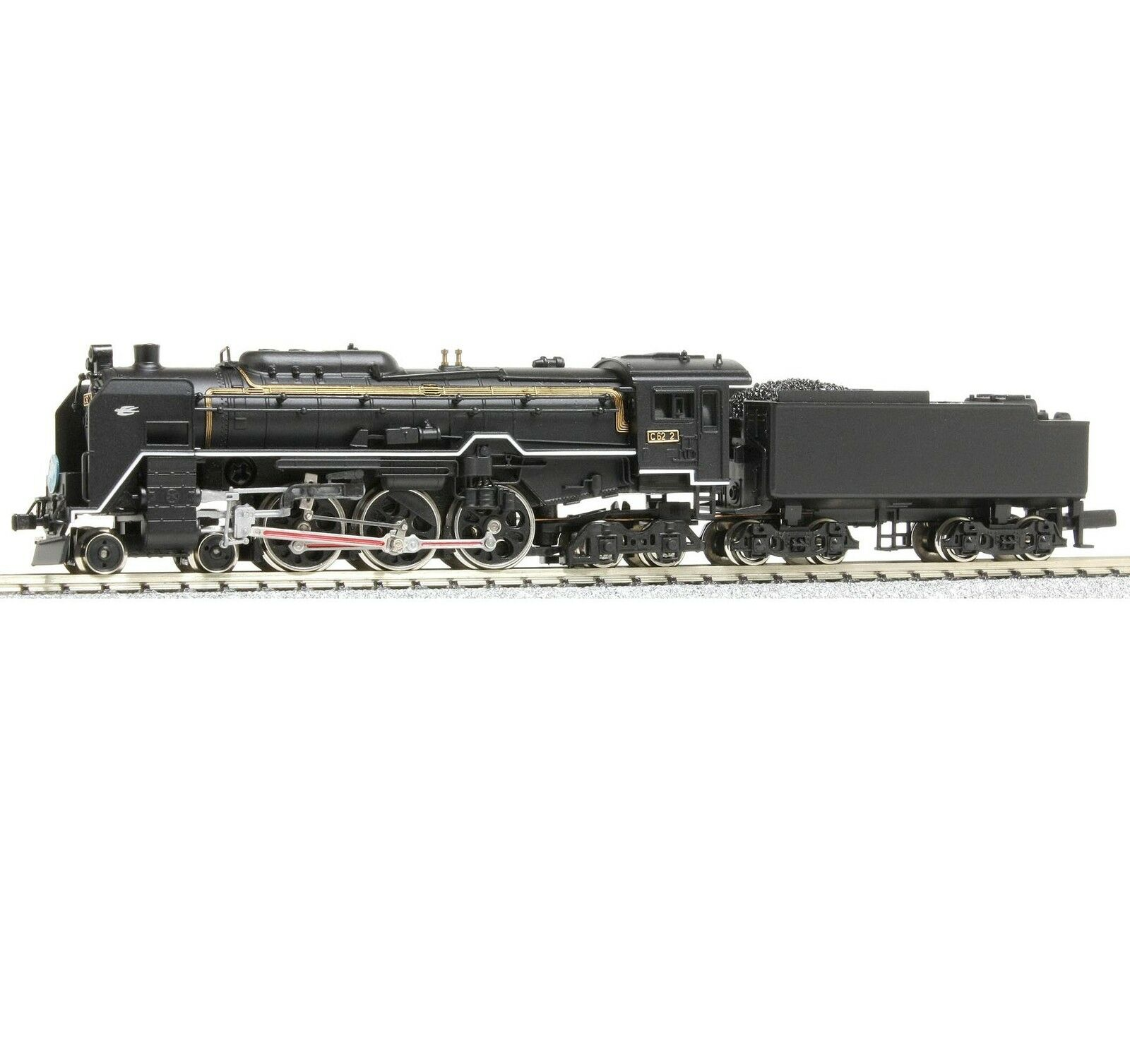 MicroAce A9801 Steam Locomotive 4-6-4 Type C62-2 Hakodate Swallow Angel - N