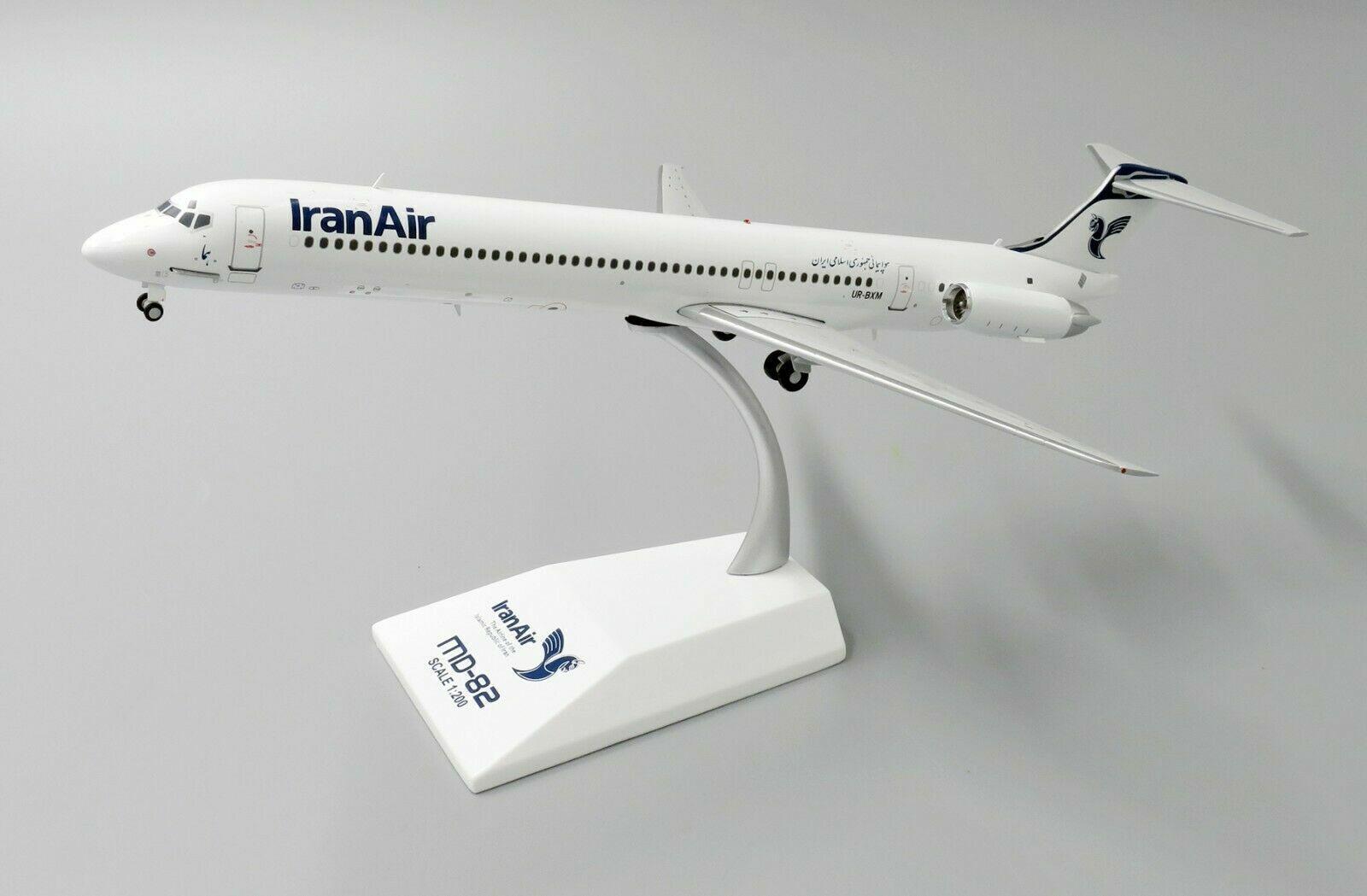 diseñador en linea Jc Wings 1 200 Irán aire McDonnell McDonnell McDonnell Douglas MD-80 Ur-bxm (XX2059)  bajo precio