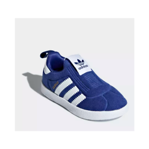 White Green Baby Kids shoes Sneakers Adidas Toddler GAZELLE 360 I AQ1092