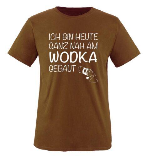 Señores T-Shirt Hoy estoy muy cerca del vodka construido