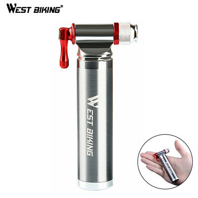 Details about  /Mini Bicycle Air Pump Tire CO2 Inflator Presta Schrader for Mountain Cycling