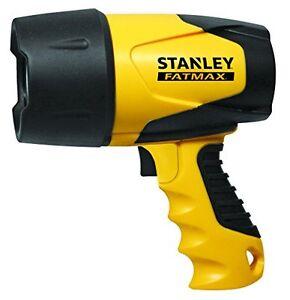 NEW-STANLEY-FATMAX-FL5W10-Waterproof-LED-Rechargeable-Spotlight-FREE-SHIPPING