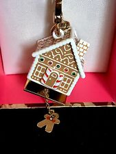 NWT Juicy Couture 2013 LTD ED GINGERBREAD HOUSE CHARM CRYSTALS Opens Up YJRU7318