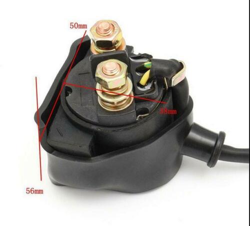 Ignition Wiring Harness Kit Solenoid Rectifier CDI 50-125cc ATV Pit Quad Bike 1x