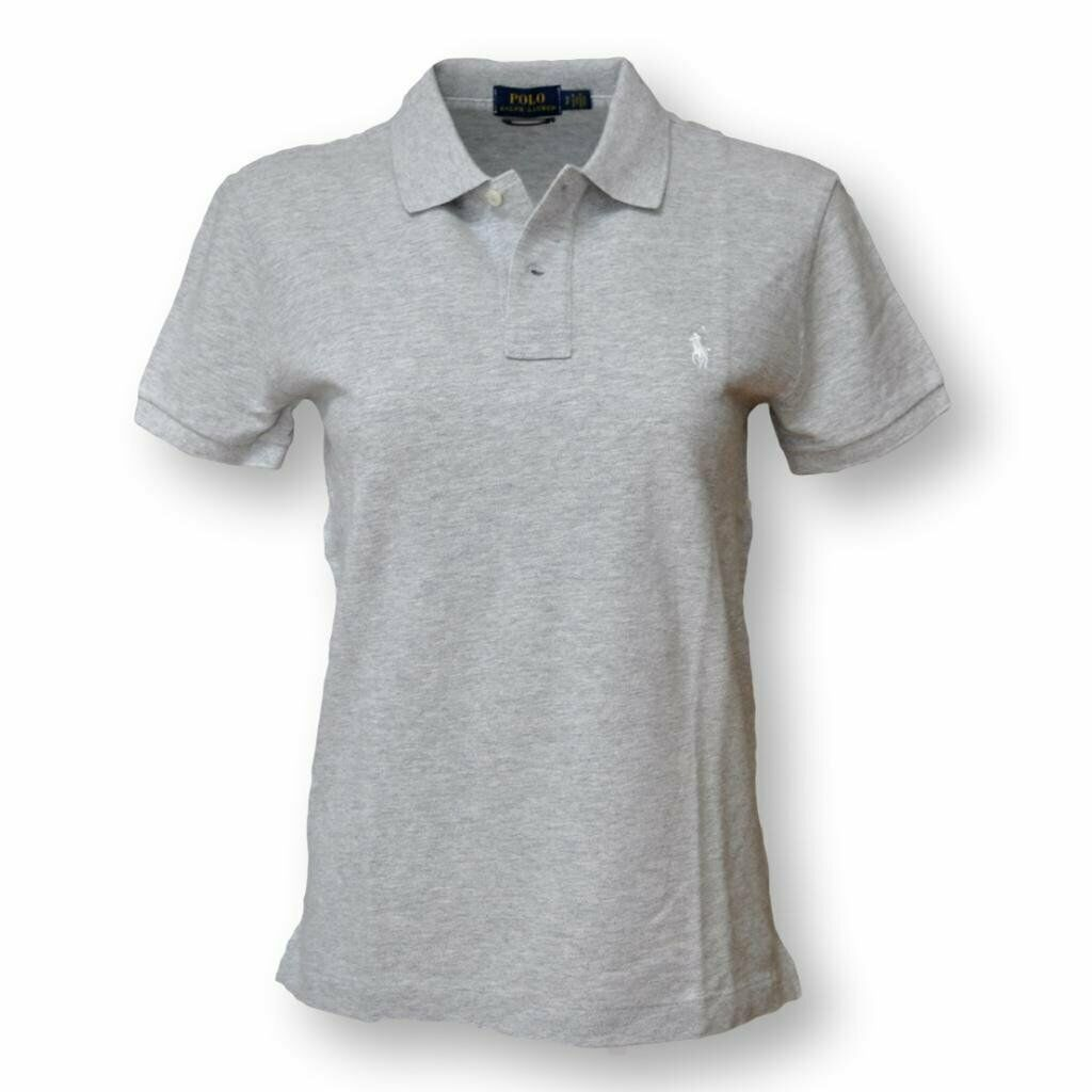 Polo Ralph Lauren Woherren Classic Fit Mesh Polo Shirt, Taylor Heather, S L