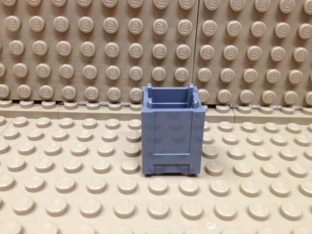 Lego® 2 x Kiste Box Container 2x2x2 dunkelgrau NEU #61780