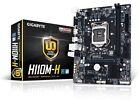 GIGABYTE Ga-h110m-h Intel Lga1151 mATX Motherboard Ddr4 USB 3.0 VGA HDMI Sata3