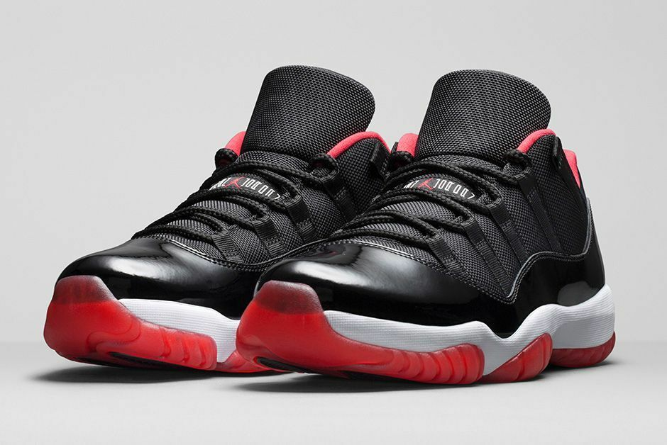 Nike Air Jordan 11 XI Retro Low Bred Size 10.5. 528895-012 1 2 3 4 5 6
