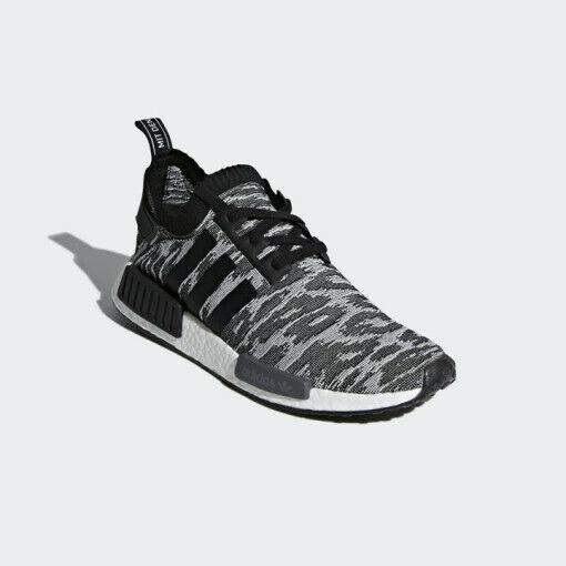best sneakers 2741b 84ffd Adidas Originals NMD R1 PK Primeknit - Grey/ Black (CQ2444), Men's Running  Shoes