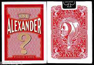 1-new-deck-ASK-ALEXANDER-Playing-Cards-poker-by-USPCC-Bicycle