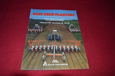 Allis Chalmers Row Crop Planters Dealer/'s Brochure GDSD4