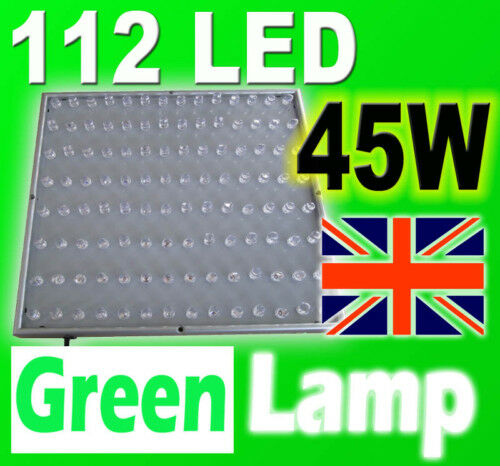 112 LED 45W ALL RED Grow Panel Red Hydroponic Light Board