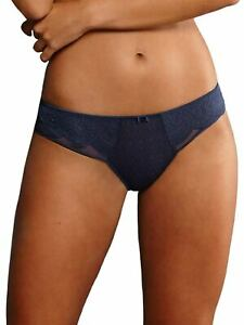 Women-039-s-All-over-Lace-Shorty-Selma-by-Rosa-Faia-1335-Patriot-Blue