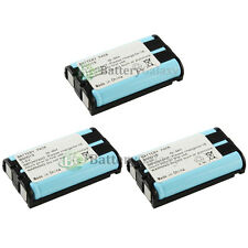 3 NEW Home Phone Rechargeable Battery for Panasonic HHR-P104 HHR-P104A 800+SOLD
