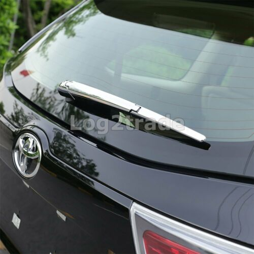 Rear Window Rain Wiper Cover for Toyota Highlander 2015 2016 Chrome Molding Trim