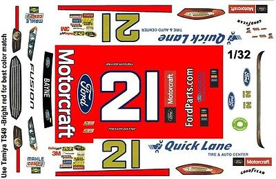 #21 MARVIN PANCH Augusta Motors 1//32nd Scale Decals Slot Car