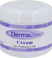 4oz Dermazinc Cream Eczema Psoriasis Dermatitis Treatment .25% Zinc Pyrithione