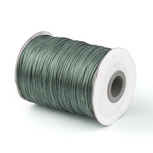 1 Roll 1.0mm Korean Waxed Polyester Cord Jewelry Making Cord Craft Colors Choice