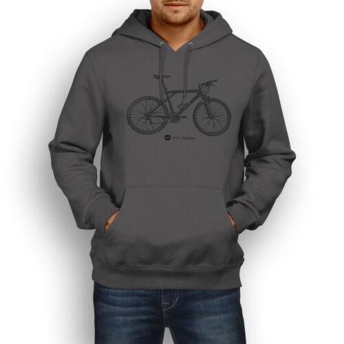 Retro Classic GT Zaskar LE Hoody MTB Bike Ninja