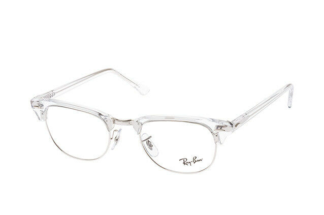 73444b0b71 Glasses Vista Ray-Ban Rx5154 Clubmaster 2001 White Transparent Cal.49 for  sale online