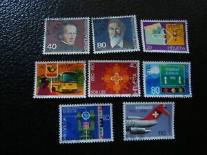 Switzerland-Stamp-Yvert-Tellier-N-1104-05-1110-11-1115-16-1124-25