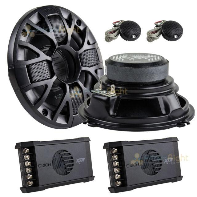 Orion Xtr52 2 Way 5 25 Component Car Speaker System Ebay