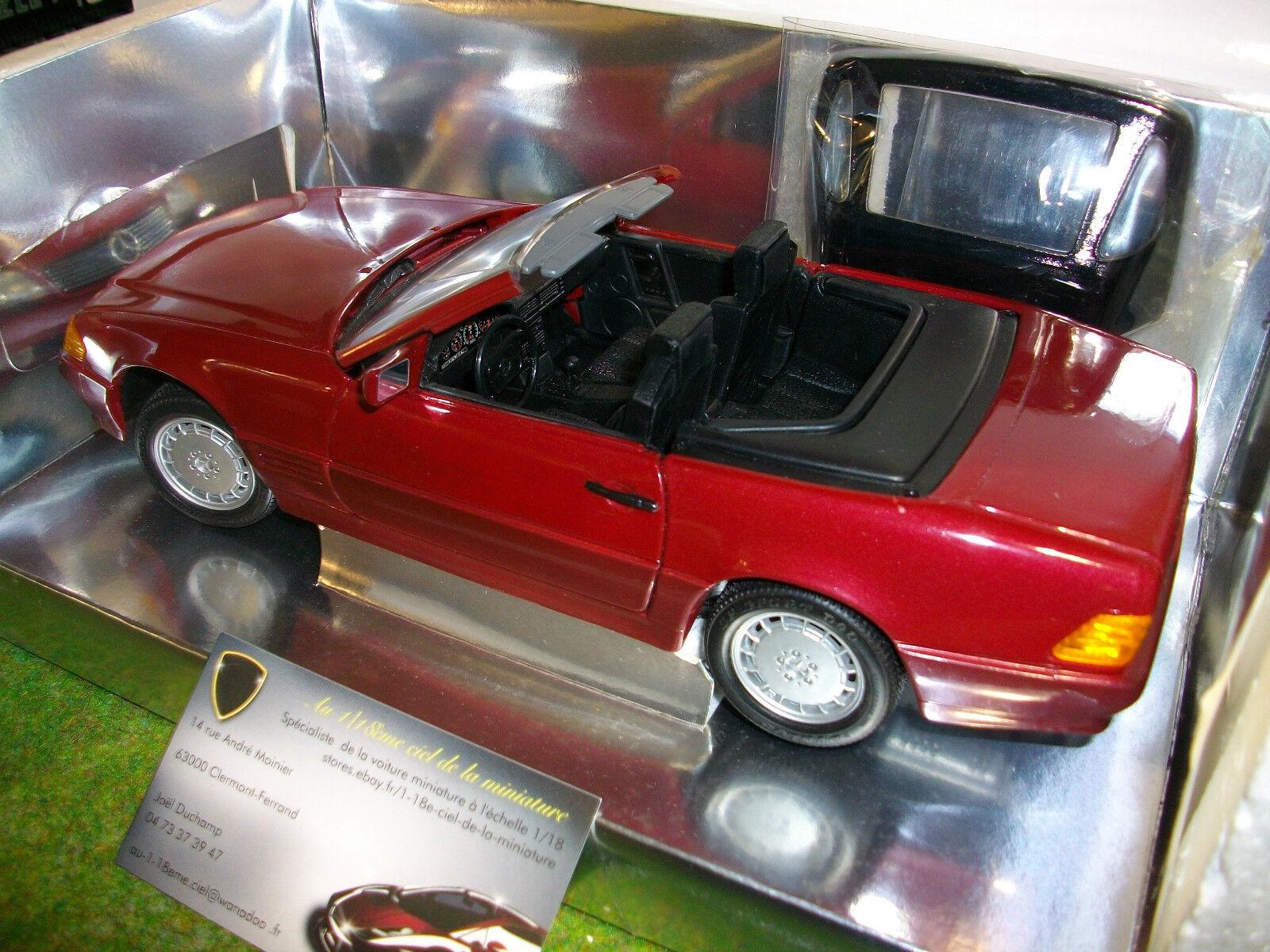 MERCEDES 500 SL 32 CONGrünIBLE CABRIOLET 1 18 REVELL 8801 voiture miniature