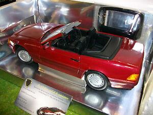 Mercedes 500 Sl 32 Convertible Cabriolet 1/18 Revell 8801 Voiture Miniature