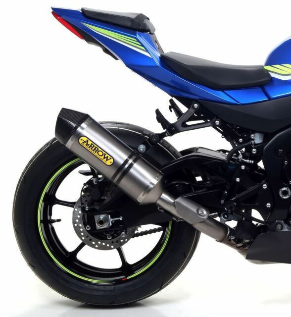 SILENCIEUX ARROW RACE-TECH TITANE SUZUKI GSXR 1000 / R 2017/18 - 71855PK