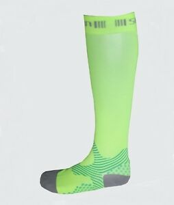 Spun-Performance-Apparel-Medical-Grade-Athletic-Compression-Socks-Nano-Green