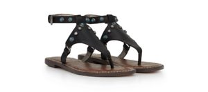 c99f032b12cd Sam Edelman Galena Black Ankle Strap Sandal Women s sizes 5-11  NEW ...
