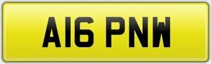 A16-PNW-CHERISHED-CLASSIC-OLD-CAR-REG-NUMBER-PLATE-ON-RETENTION-ALL-FEES-PAID