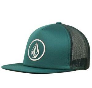 Volcom-Herren-Full-Frontal-Kaese-Grafik-Print-Logo-Trucker-hatfreeship-NWT