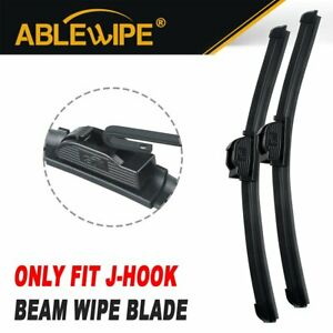 """Set of 2 ABLEWIPE Fit For Buick LaCrosse 2016-2010 26/""""+18/"""" Beam Wiper Blades"""