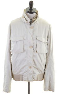 Timberland-Womens-jacket-Size-16-Large-Beige-Cotton
