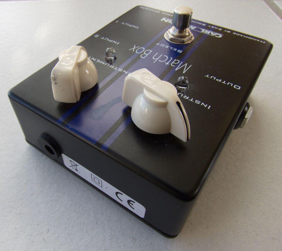 2 instrumenter til 1 forstærker, Carl Martin Match box /